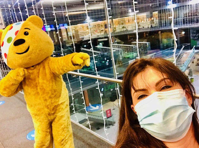 Children In Need with Maria