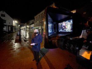 Reporting at night